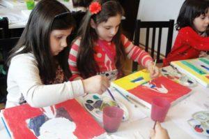 cursuri pictură copii