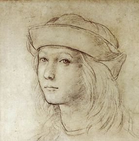 raphael-self-portrait-drawing